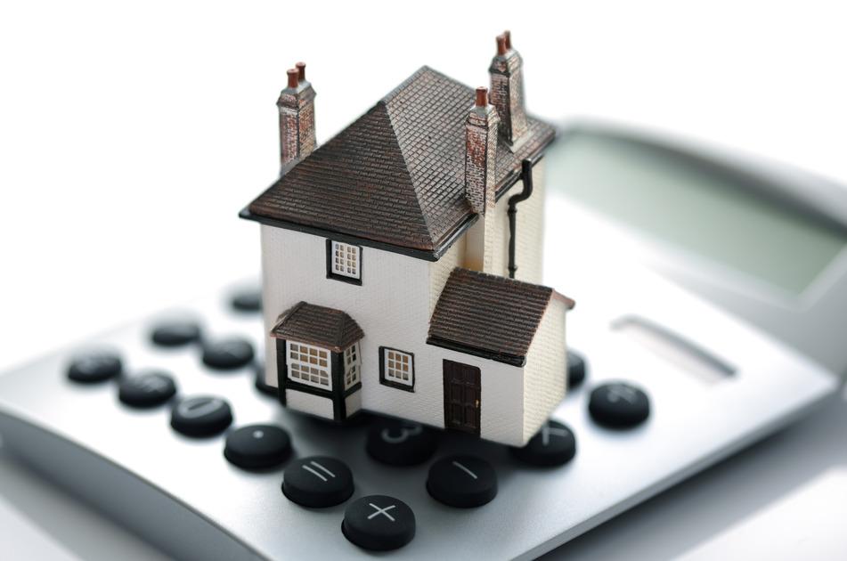 et huslån beregnes på en lommeregner